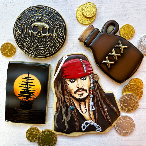 Pirate Cookie Class