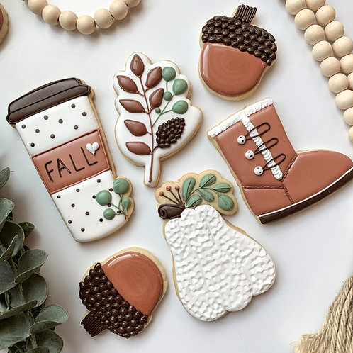 Fall Fun Beginner's Cookie Class