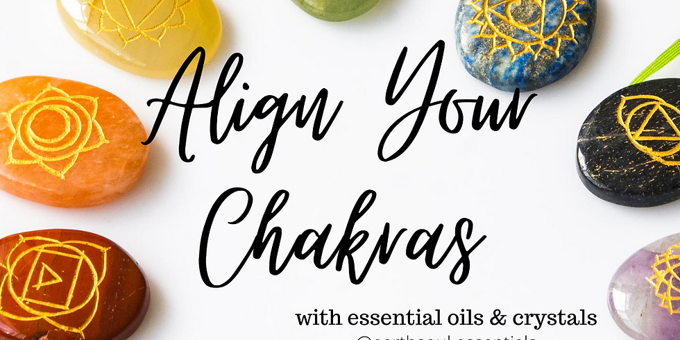 Align Your Chakras with Crystals and Oils