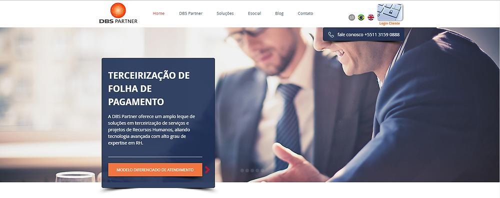site DBS Partner
