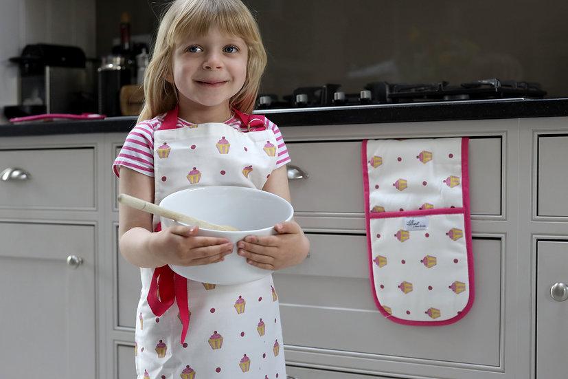 Child Apron - Cupcake