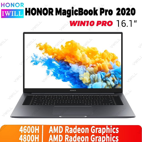16.1 Inch Original HONOR Magicbook Pro 2020 Laptop  R5-4600h/R7-4800h