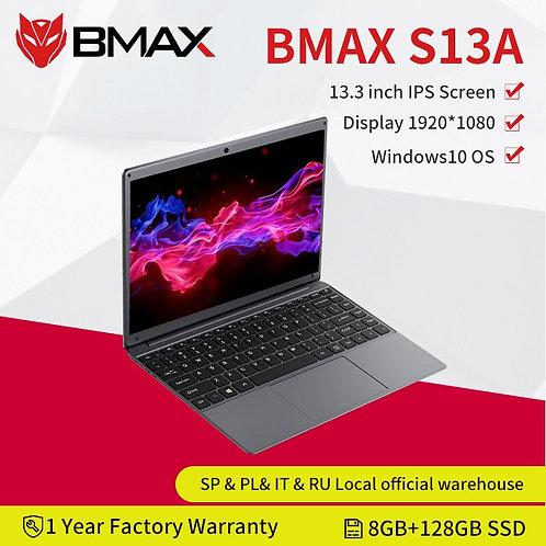 """Newest BMAX S13A 13.3""""  1920x1080 IPS  8GB RAM 128GB ROM Laptop"""