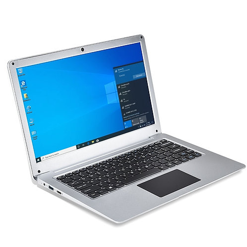 N3350 12.5'' Slim Mini Laptop 4G RAM 64G SSD Ultrabook Portable Business Office
