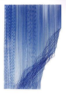 JM Torque 70x50 stylo bille sur papier.J