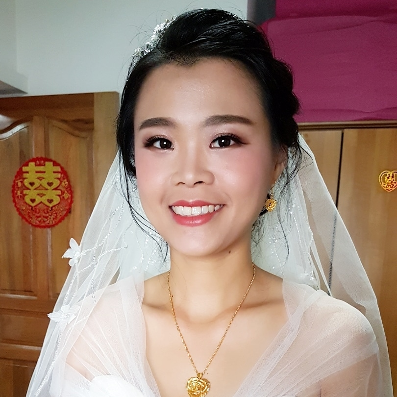 Radiant Natural Bridal Makeup