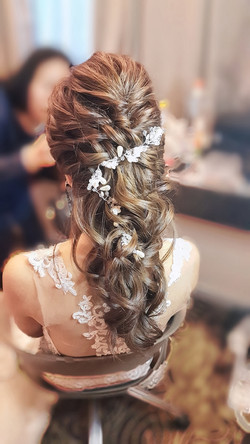 Boho Messy Braid