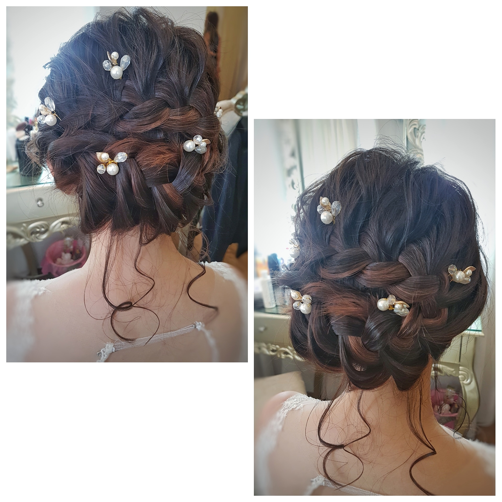 Another popular braided style