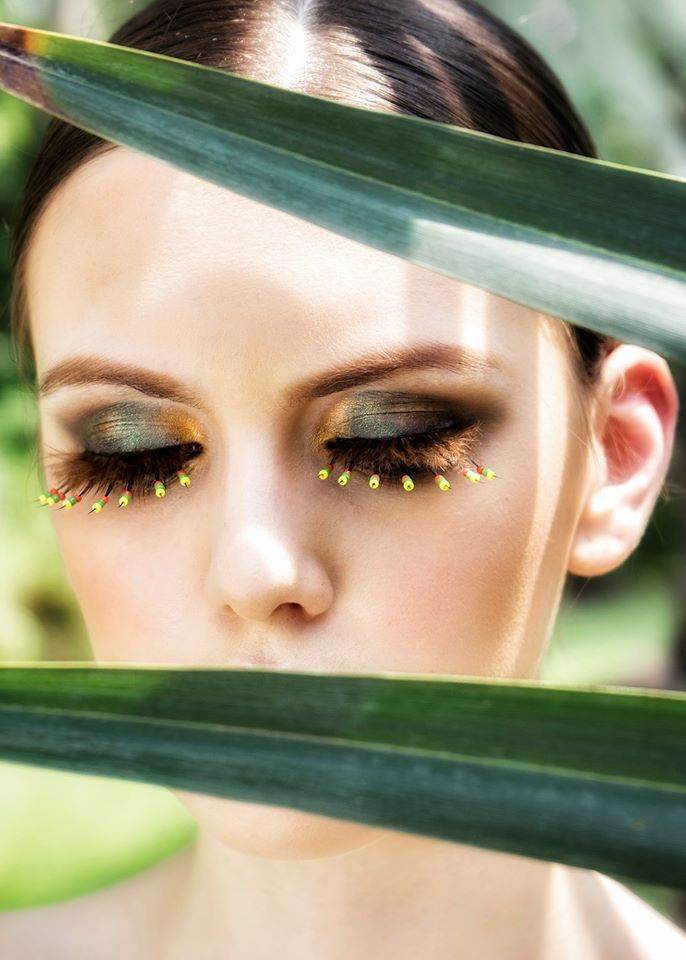 Shu Umera Lashes shoot