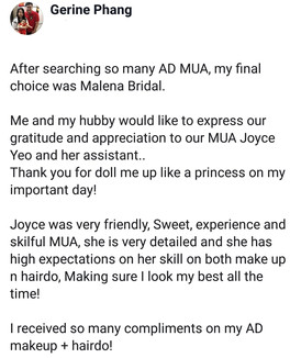 Review by Bride Gerine