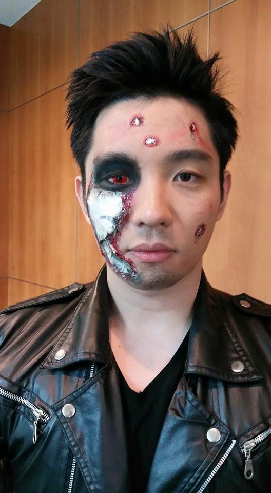 Heroic Terminator makeup