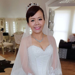 What a joy to doll up brides who are friendly, humble, sweet and appreciative of your work