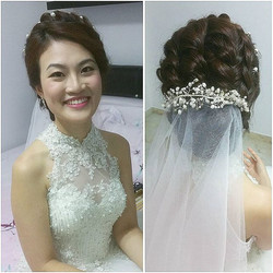 Congratulations to our pretty bride, Evelyn! And congratulations to ALL couples getting married on t