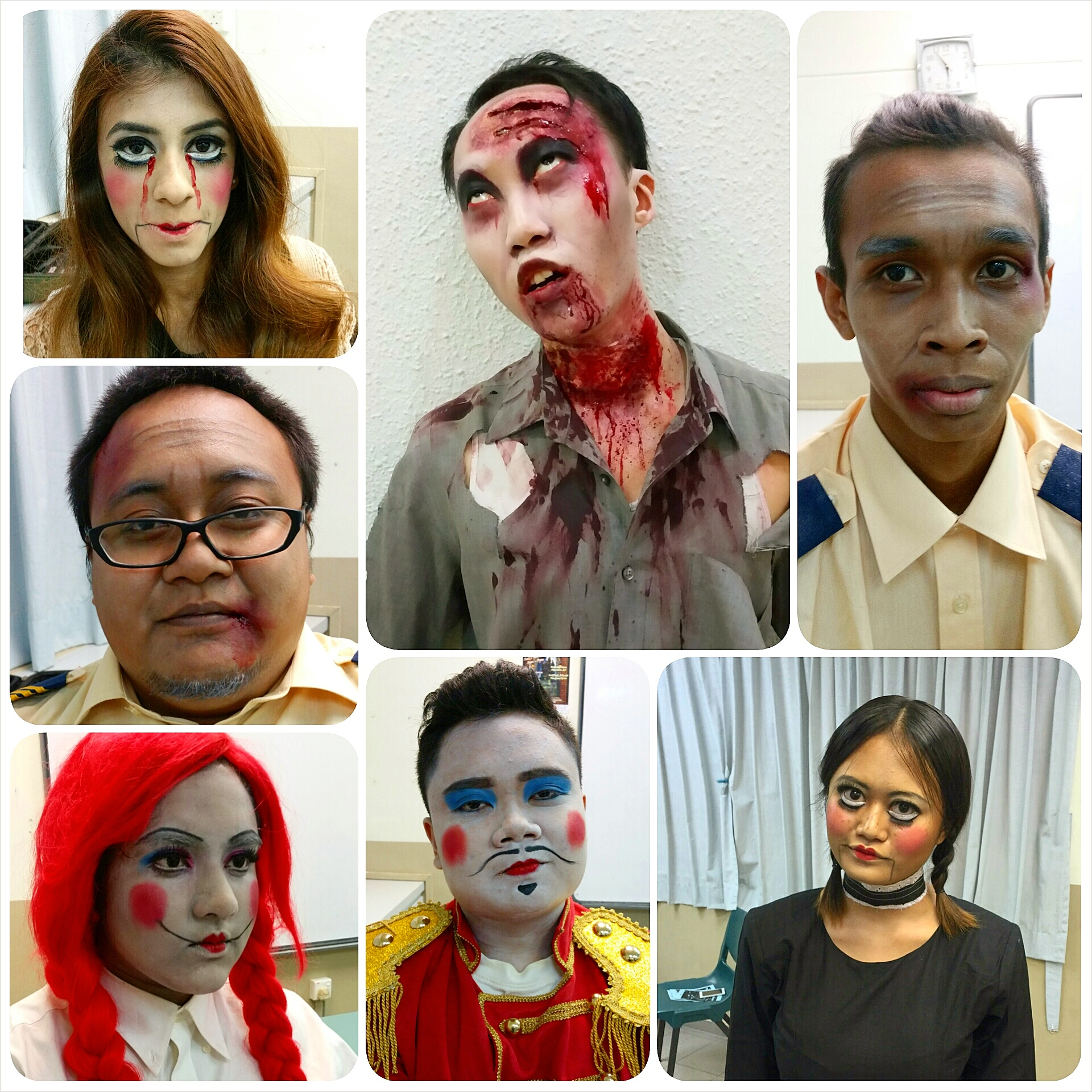 Halloween Makeup 2014