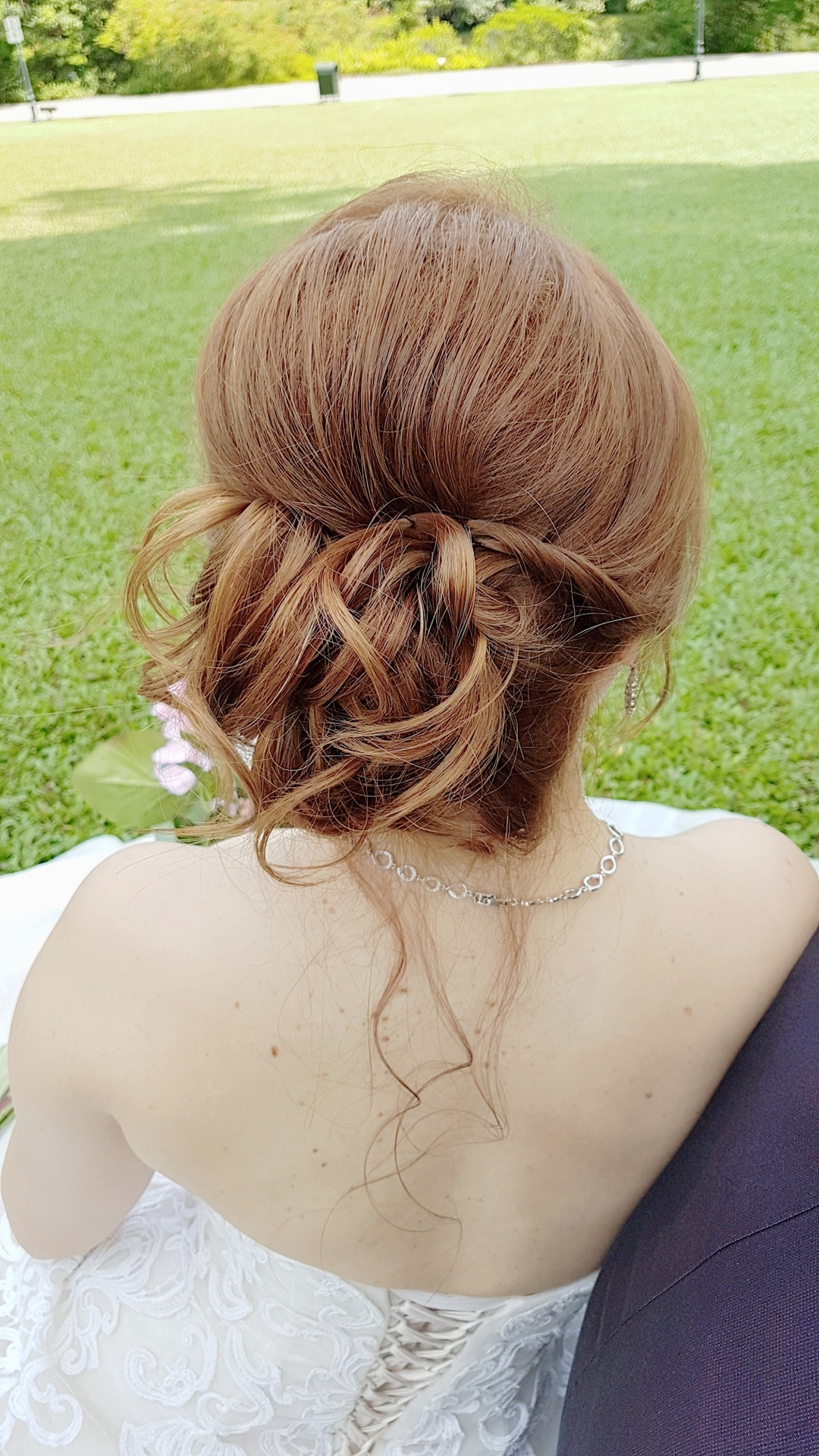 Romantic Low Messy Bun