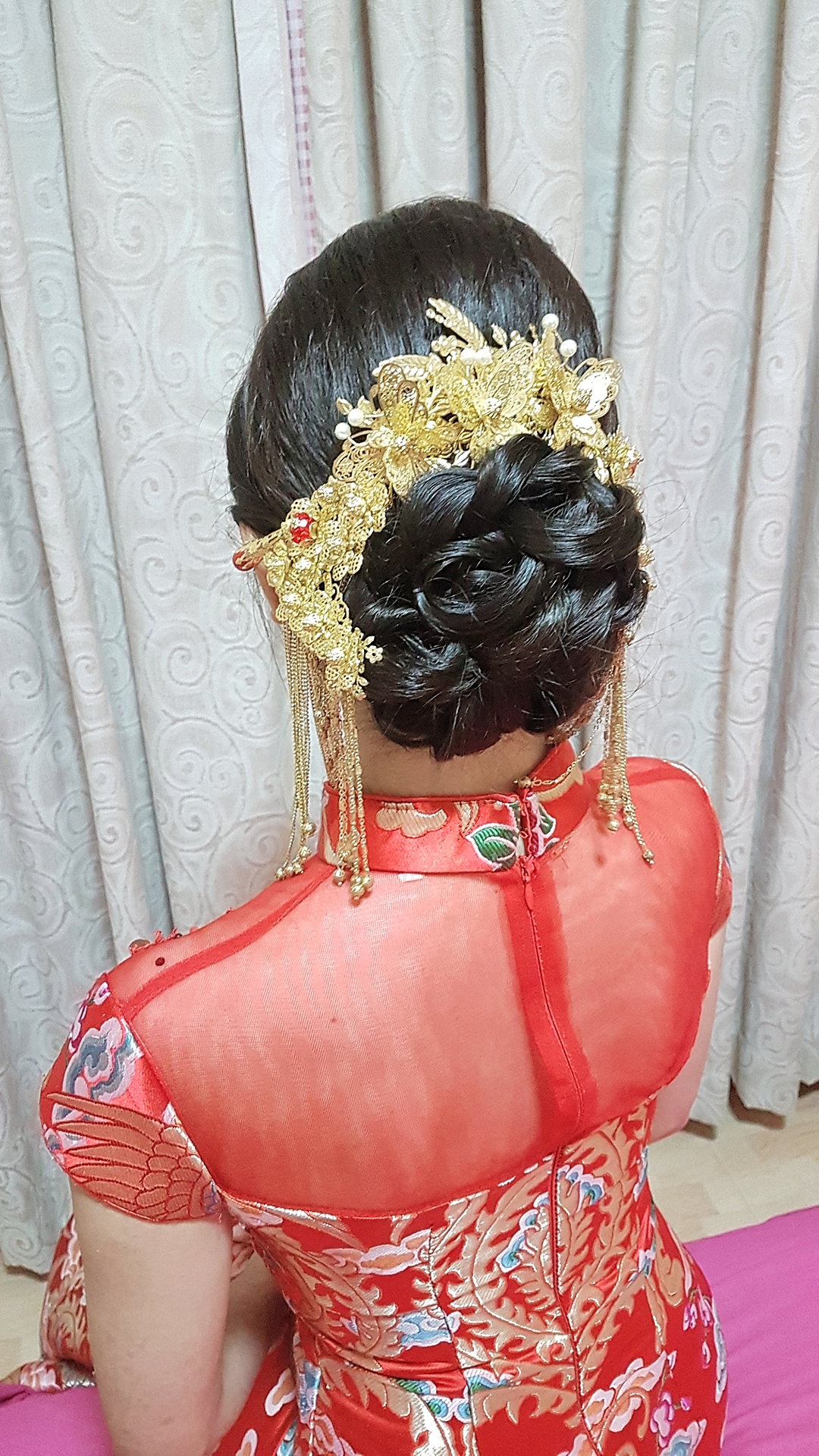 Simple and Chic Kua Updo