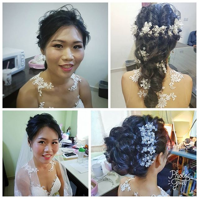 Congrats to Genelle from _malena_bridal! Thanks for trusting us for your actual day looks without a