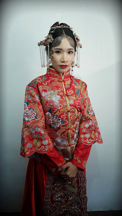 Traditional Oriental Bridal Styling