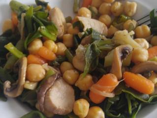 ירקות מוקפצים