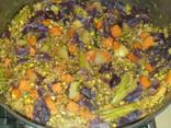 תבשיל ירקות עם קינואה ומאש