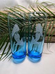 Mermaid Beverage Glasses