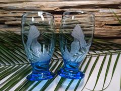 Mermaid Glass Goblets