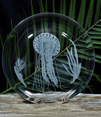Jellyfish Underwater Scene