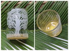 Majestic Oak Glass Votive A