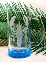 Lobster Glass Mug