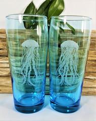 Jellyfish Beverage Glasses