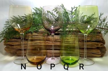 Multi-color Wine Glasses