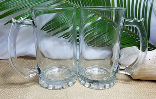 Small Clear Glass Mugs
