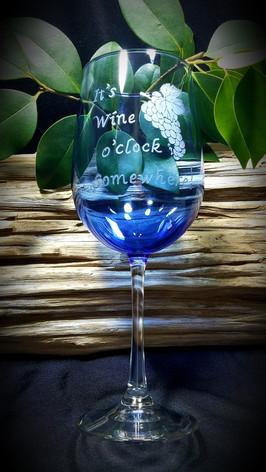 It's Wine o'clock Somewhere & Grapes