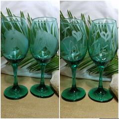 Love Horses Wine Glasses