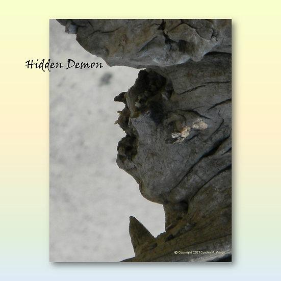"""Hidden Demon"" & ""Watchful Tree Elder"" Double Sided Print"
