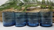 Blue Bubble Glass DOF Glasses