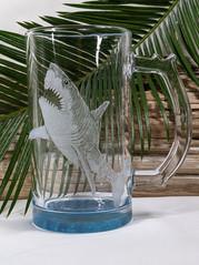 Shark Glass  Mug