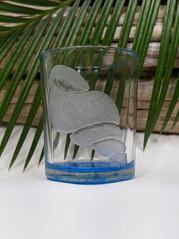 Tulip Shell Glass Votive