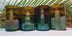 Georgia Lighthouses Highball Glasses