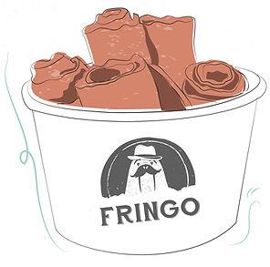 helados en rollo fringo