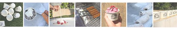 Fringo Heladeria Helados en rollo carrito de helado calidad