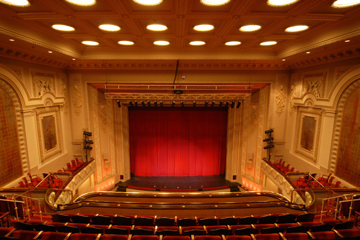 Stage from Balcony after Renovation