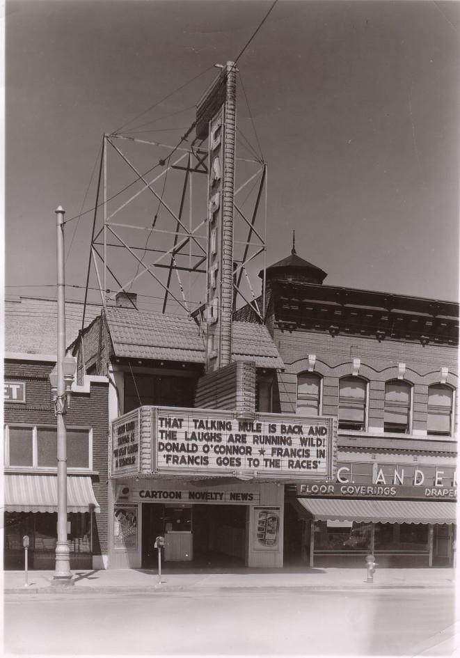 Exterior Circa 1940's