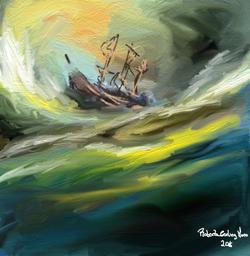 Tempestade ao mar