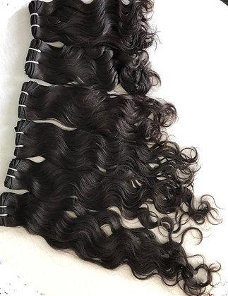 Malaysisches Haar - wellig - ab CHF 70.-