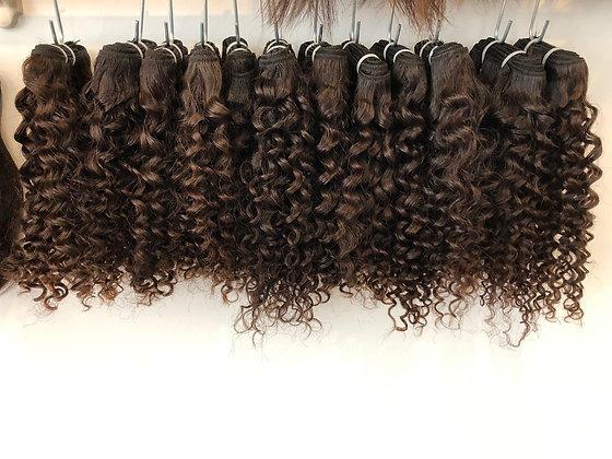 Kambodschanisches Haar Kurzes lockiges Haar - ab CHF 70