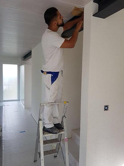 Entreprise de peinture, rénovation, décoration, papier paint, gypserie, Genève-Vaud.