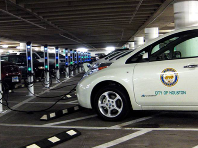 Thanks to support from Nissan, t/he City of Houston will soon grow its EV fleet with 29 new EVs in operation.