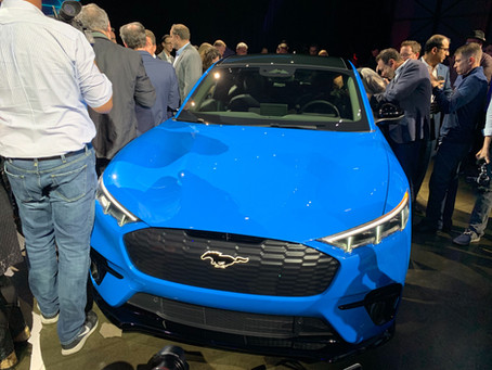 EVolve Houston at Ford's Mach-E Reveal Event