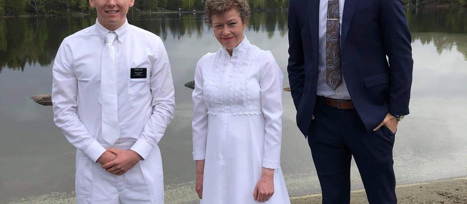 Lake Baptism in Drammen